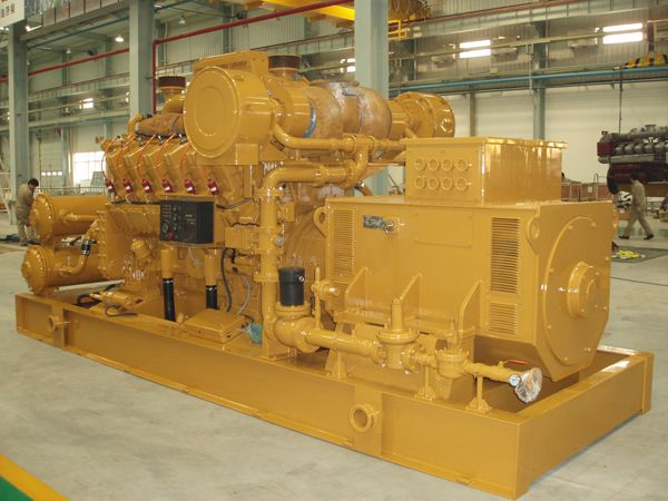 1 set 1000kw gas generator exported to Uzbekistan