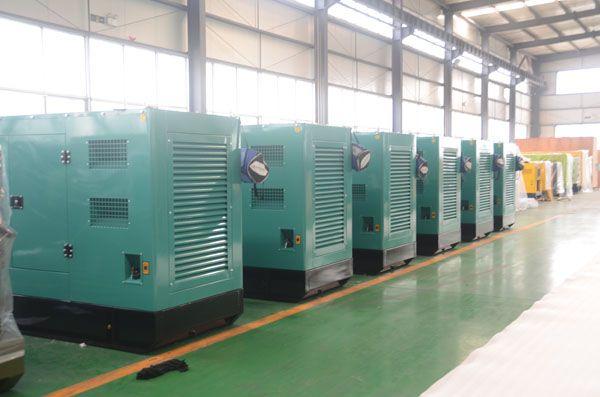 6 sets 80kw diesel generators exported to Bangladesh