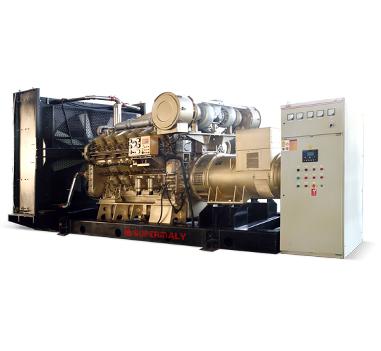 Generator Powered by Jichai Engine