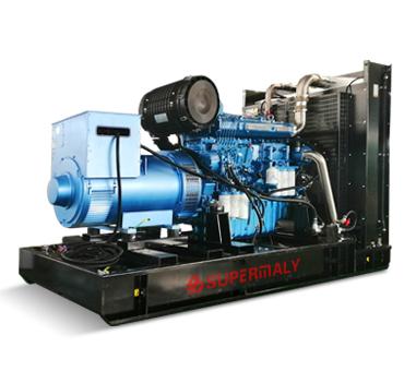 Generator Powered by Weichai Engine